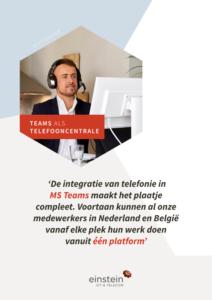Whitepaper Teams als telefooncentrale